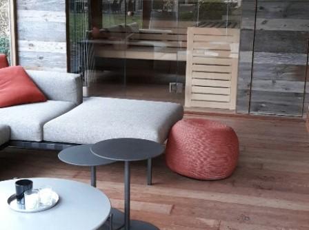 Poolhouse met sauna en whirlpool