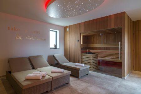 Vakantiehuis Belvoor in 's Gravenvoeren: sauna – infrarood